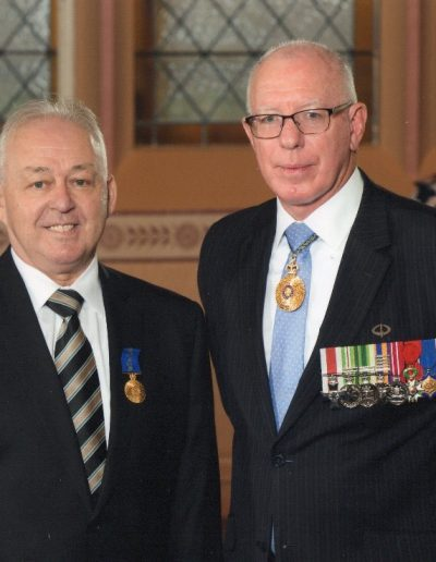 Governor General, His Excellency General, The Honourable David Hurley AC DSC (Retd).